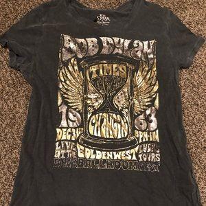 Lucky Brand Hippie Bob Dylan Shirt